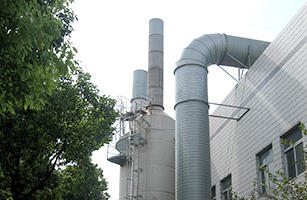 DMF排気回収装置(タイ・中国)